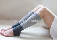 Vente en gros-New 2015 Fashion Light Grey Jambières Warmers Vente en gros 12Pairs / Lot Womens Crochet Cotton Patterned Boot Cuff Soft Chaussettes 17121106