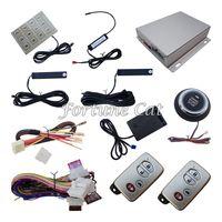 Wholesale Car Button Sensor - Smart Key PKE Car Alarm System With Shock Sensor Remote Start Password Keyless Entry Push Button Start Stop Car Auto Windows Close Output
