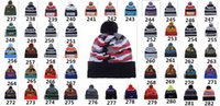Wholesale Wool Winter Cuffed Knit Hat - New American Football 32 team Beanies Sports Beanie Winter Knit Cuff Beanies Hats Accept Mix Order Thousands of Models