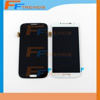 Wholesale S4 Lcd Replacement Screen - Original LCD Touch Screen & Digitizer Assembly for Samsung Galaxy S4 i9500 i9505 M919 L720 i545 R970 i337 Replacement