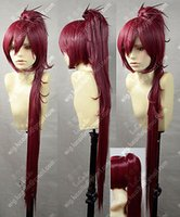 Wholesale Kyoko Sakura Wig - Wholesale free shipping >>>>Puella Magi Madoka Magica Kyoko Sakura Red Cosplay Wig
