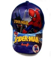 Wholesale Hat Dc Comics - Spider Man Homecoming Cosplay Cap Novelty Super Hero superman Comics Hero DC Parker Hats kid Children Hat charm Costume Prop Baseball cap