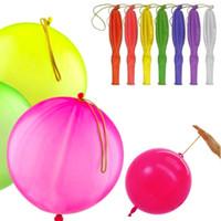 ingrosso palloncino a colori per i bambini-Nuovo colore misto flessibile palloncini schiaffo bambini giocattolo matrimonio festa di compleanno bambini divertenti regali spedizione gratuita