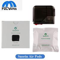 Wholesale Air Replacement - Authentic Foxcom Murdex Suorin Air Cartridge 2ml Capacity Single Pack Ultra Portable Pod Replacement Tank 100% Original