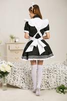 Wholesale Onepiece Woman - Wholesale-Lolita Leprechaun maid dress LoveLive!costume Kousaka Honoka onepiece Anime cosplay Japan game uniform for women halloween