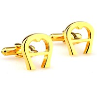 Wholesale Pure Marketing - Factory direct u-pure metal cufflinks cufflinks cufflinks Business sportsman Ms. XKZJ Wholesale high quality low price procurement markets