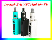 Wholesale Joye Tech Evic - High Quality Joyetech Mini 60w Evic VTC full Kit Joytech Evic VT Mini TC Kits ecigarette joye tech evic-vt VS Subox mini Kit