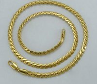 Anniyo African Party Necklace Gold Plated Chain Link Men / Women Fashion Jewelry