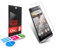 package listing - 0 mm H Tempered Glass Screen protector Anti Scratch Protective Film For Lenovo VIBE X2 S1 list K910 K920 K3 K5 NOTE plus WITH PACKAGE