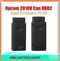 Wholesale Op Com Cable - 2015 Best Quality Opcom OP Com 2010V Can OBD2 for Opel Firmware V1.45 OP-COM Auto Diagnostic Interface Free Shipping
