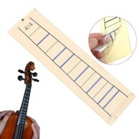 Wholesale Fingerboard Tape - Wholesale- Violin Fretboard Sticker Tape Fiddle Fingerboard Chart Finger Marker For 4 4 1PC