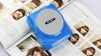 Wholesale Wireless Tour Guide - 2016 Best Sale Portable Wireless megaphone professional Voice Amplifier Loudspeaker for promotion sales,teachers, tour guide etc