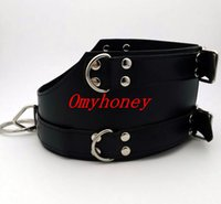 Wholesale Luxury Chastity Belts For Women - new luxury PVC bondage female neck collar neck ring , sex toys for women, chastity devices belt, SM313A