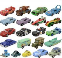 Wholesale Cars2 Toy Cars - Pixar Cars2 Lightning McQueen 1:55 Diecast Alloy Toys Birthday Christmas Gift For Kids Toy The King Sally Mater Fillmore FLo b957