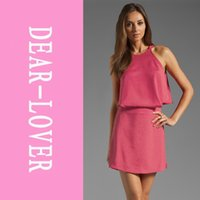 Wholesale Sexy Career Clothing - Women summer Cynthia sexy career Mini Dress clothes for women LC2715 2 piece dress FG1511