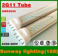Wholesale China Led Lights Prices - 18W 22W LED tube light 2g11 2835 SMD new design new design china wholesale price free shipping by fedex X20pcs