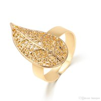 Wholesale Vintage Honeycomb - Gold Rings for Women Fashion 18K Gold Plated Left Heart Honeycomb Opened Adjustable Vintage Woman Rings Charming Jewelery Open RINGS