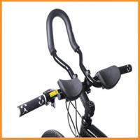 Wholesale Aluminum Rest Handlebar - Top Quality Mountain Road MTB Bike Bicycle Aluminum Alloy Triathlon Aero Rest Bar Relaxation Cycling Handlebar