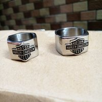 Wholesale Ring Spots - Europe and the United States jewelry men's rings, men's accessories, stainless steel ring new spot