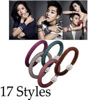 Wholesale Mesh Bracelets China - Hot 17 Styles Fashion Mesh Chain Bracelet Crystal Filled Rhinestone Bracelets Bangles Bracelets For Women Accessories Christmas Gift D126S