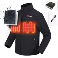 Wholesale Heat Vest - Carbon fiber heating clothes Heating Keeping Warm Far Infrared Ray Carbon Vest with Fiber Heating Pads Warm Keeping jacket motorcycle riding