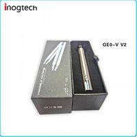 Wholesale Mt3 Lcd - EGO V2 VV2 1300mah Variable Voltage Battery With LCD Display For EGO E Cigarette For CE4 CE5 CE6 VIVI NOVA Mini Protank 2 3 MT3 Globe DC014