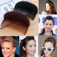 Wholesale Bun Maker Clips - 1 X 2015 Hot Sale Women Girls Lovely Hair Styling Clip Stick Bun Maker Braid Tool Hair Accessories