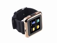 Wholesale Calendar English - New arrival Bluetooth Bracelet Smart watch HD camera One click video GSM quad-band mobile phone with Alarm clock, clock, calendar