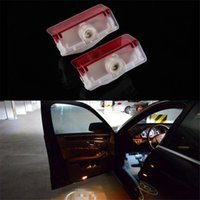 Wholesale Mercedes Welcome - Car Styling LED Welcome Logo Door Laser Shoot Light lamp For Mercedes Benz ML E B A GL E260L