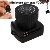 Wholesale Wholesale Miniature Frames - Hd the small camera Miniature cameras Y2000 mini wireless camera Take the camera