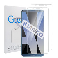 Wholesale cases for huawei ascend - Huawei Mate 10 Pro Screen Protector 9H Ultra Clear Transparent Explosion-proof Tempered Glass For Mate 10,Mate 10 Lite with Retail Case