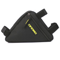 Wholesale Outdoor Sports Bicycle Cycling Bike Top Tube Triangle Bag Stand Tool Pouch Black
