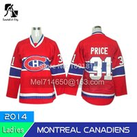 Wholesale Women Clothing Outlets - Factory Outlet, # 31 price women hockey clothing Canadian Montreal Canadiens red jersey