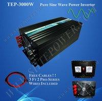 12v inversor de onda sinusoidal pura al por mayor-Pura onda sinusoidal DC 12V 24V a la CA 220V 230V 240V Off Grid Power Inverter 3000w