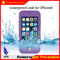 Wholesale s4 full case - red pepper Waterproof Shockproof dirtyproof case full cover For Iphone 4S 5S 5C 6 6S Plus Samsung Galaxy S3 S4 S5 S6 Note 2 3 4