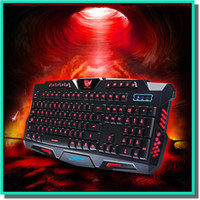 Wholesale Game Backlit Keyboard - Backlight game keyboard City fangyuan HK - M200 three color backlit keyboard 19 key without mechanical shooting game keyboard fit for cf lol