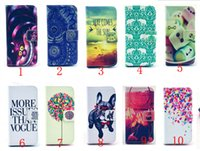 Wholesale Aztec Leather Case - Cute Owl Flower Tower Aztec Tribal Pattern wallet stand leather Case For Samsung Galaxy S5 With Card Holder Flip Cover