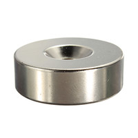 Wholesale neo magnets - Strong Ring Loop Countersunk Magnet 30 x 10 mm Hole 6 mm Rare Earth Neo Neodymium neodymium magnet cylinder 6mm order<$18no track
