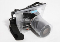 Wholesale Dslr Housing - New good quality 20M Waterproof DSLR SLR digital Camera outdoor Underwater Housing Case Pouch Diving Dry Bag For Canon for Nikon