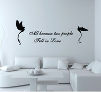 Wholesale Stickers For Walls China - Free shipping home decoration removable Wall Decal black birds china Wall Stickers Vinyl stickers home decor Quote