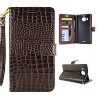 Wholesale Snake Skin Case Wallet - Wallet Leather Case Crocodile Pouch Stand Card Strap Snake Photo For HUAWEI P10 P9 Lite Nokia 6 Lumia 950XL Sony Xperia Z5 Plus Premium skin