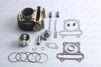 Wholesale Big Bore Engines - High Performance 50mm Big Bore 100cc Cylinder Kit Scooter GY6 100cc 139QMB 139QMA Engine Chinese Scooter Motorcycle Parts
