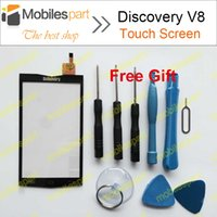 Wholesale Touch Discovery - Wholesale-Discovery V8 Touch Screen 100% Original Touch Panel Display Screen Replacement For Discovery V8 Smartphone Free Shipping