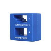 tornavida mıknatıslayıcı toptan satış-Elektrikli veya Manuel Tornavida İpuçları için Sıcak Magnetizer Demagnetizer Degausser Aracı