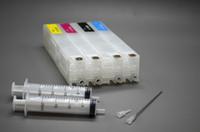 Wholesale Refilling Hp Ink Cartridge - Free shipping:4 pieces Lot, HP980 BK,C,M,Y Refill ink cartridge for HP Officejet Enterprise X555xh dn X585dn MFP X585f MFP X585z printer
