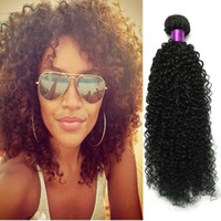 Wholesale 5a Wholesale Virgin Extensions - Big Sale 5A Malaysian Virgin Hair Sexy Malaysian Kinky Curly Hair Wefts No Tangling Curly Malaysian Curly Hair Extensions Afro Kinky