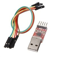 Wholesale Usb Serial Module - 1 pc USB 2.0 To TTL UART STC Module Serial Converter CP2102 5pin Cables FREE SHIPPING