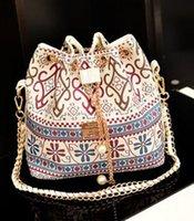 bej renkli poşetler toptan satış-Kadın Çanta Baskı Omuz Çantaları Tote Moda çanta Çanta Messenger Hobo Çanta Bej Renk ücretsiz kargo