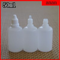 Wholesale Ophthalmic Bottles - (EMS) Free Shipping 1000 pcs lot 50ML 1.7 OZ NEW LDPE plastic Eye dropping Bottles,Ophthalmic Water Bottles