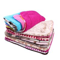 8 Packs Dog Blanket Fleece Cobertura de animal de estimação para cães e gatos Cama para grandes cães Leopard Print Cat Mat Soft Cushion Quilt Quilt